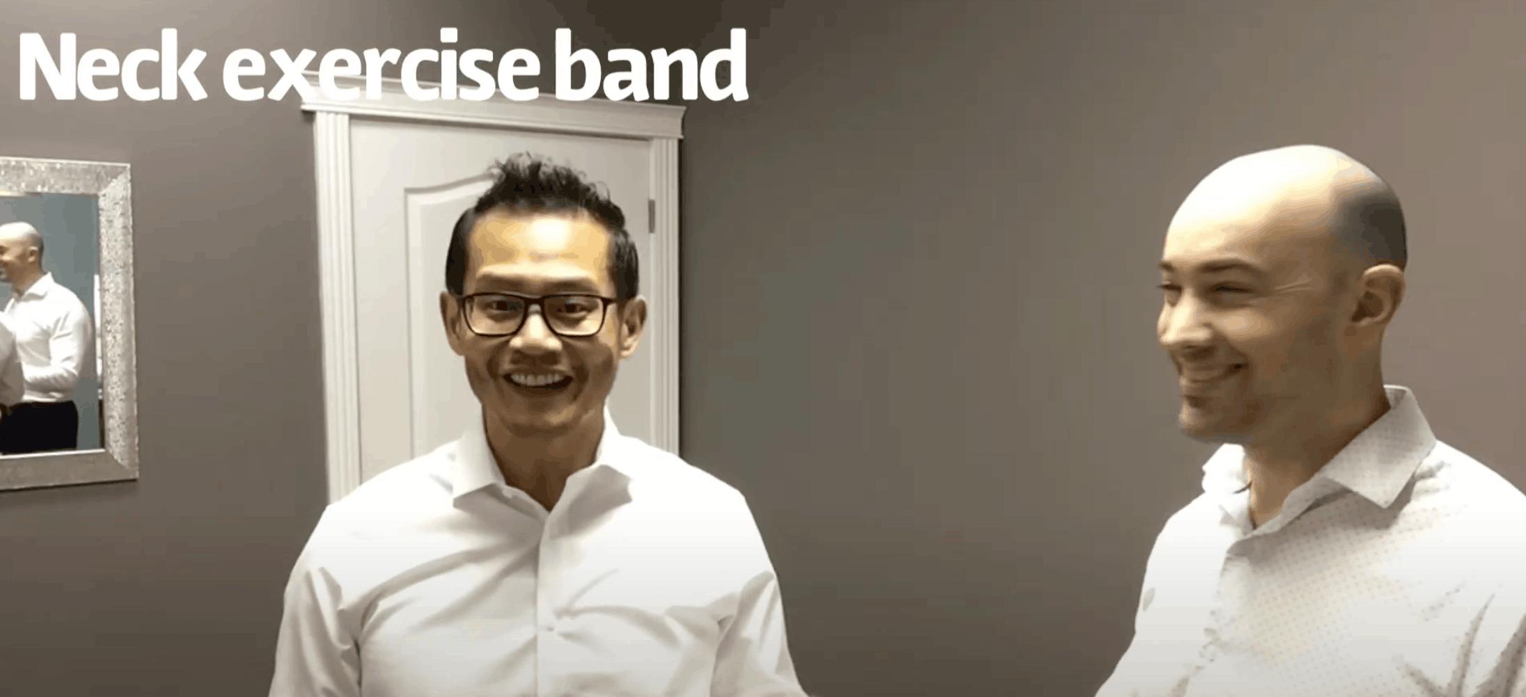Neck Band Exercise